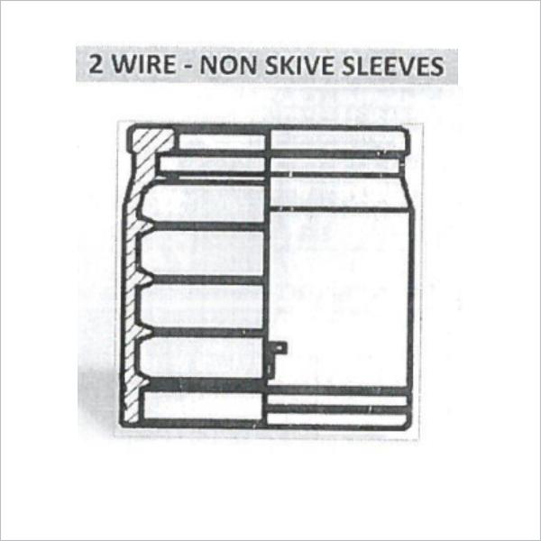 2 Wire  U2013 Non Skive Sleeves  U2013 Mega Industrial Solutions
